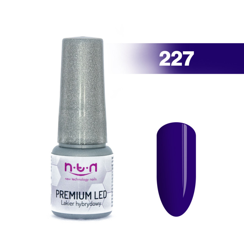 Gél lak NTN PREMIUM LED 6ml - 227