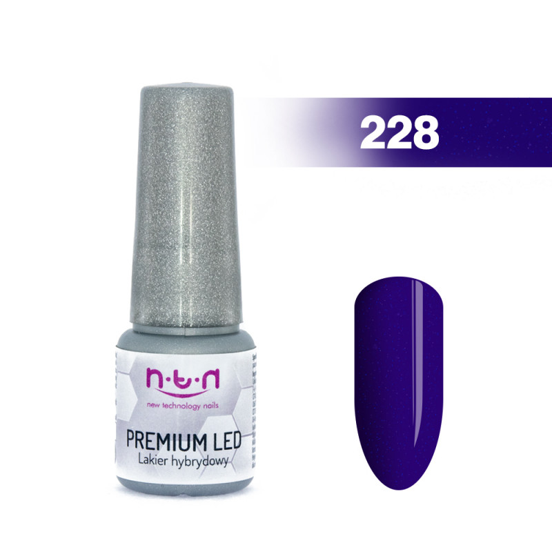 Gél lak NTN PREMIUM LED 6ml - 228