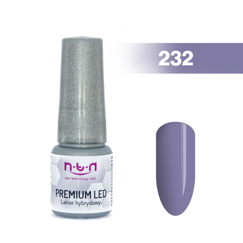Gél lak NTN PREMIUM LED 6ml - 232